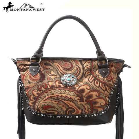 MW109-8321 Western Aztec Collection Handbag