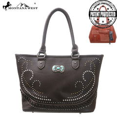 MW117G-8317 Montana West Concealed Handgun Collection Handbag