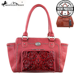 MW169G-8250 Montana West Concealed Handgun Collection Handbag with Built-in Wallet
