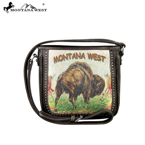 MW275-8287 Montana West Western Plains Iconic Collection Messenger Handbag