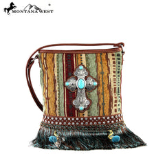 MW299-8287 Montana West Western Spiritual Collection Cross Body Bag