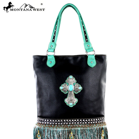 MW301-9349 Montana West Western Spiritual Collection Handbag