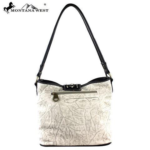 MW302-916 Montana West  Buckle Collection Handbag