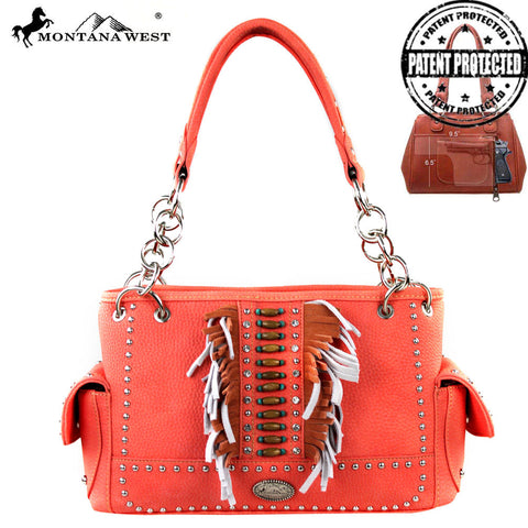 MW303G-8085 Montana West Concealed Handgun Collection Handbag