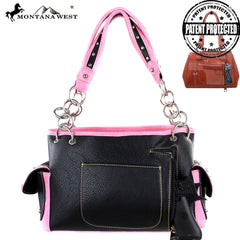 MW304G-8085 Montana West Concealed Handgun Collection  Handbag
