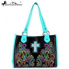 MW329-8394 Montana West Spiritual Collection Tote Bag