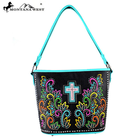 MW329-916 Montana West Spiritual Collection Tote Bag