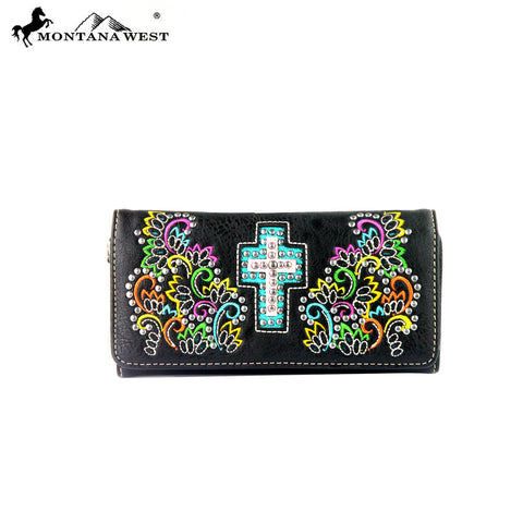MW329-W002 Montana West Spiritual Collection Wallet
