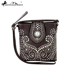 MW353-8287 Montana West Bling Bling Collection Crossbody