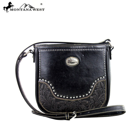 MW373-8287 Montana West Tooling Collection Crossbody