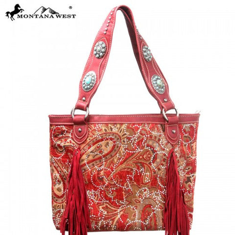 MW46-8317 Montana west Western Bling-Bling Collection Handbag