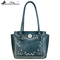 MW593-8250 Montana West Concho Collection Tote