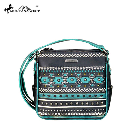 MW596-8360 Montana West Aztec Collection Crossbody