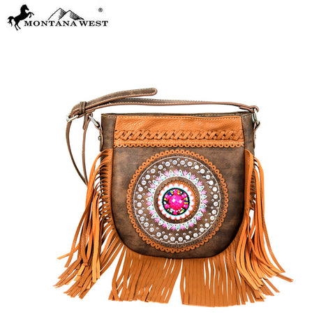 MW598-8360 Montana West Tribal Collection Crossbody