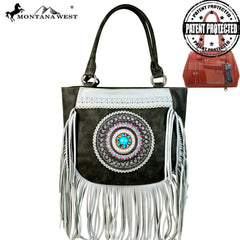 MW598G-8306 Montana West Tribal Collection Concealed Handgun Tote