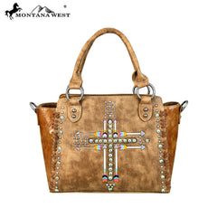 MW606-8250 Montana West Arrow Collection Satchel/Crossbody Bag