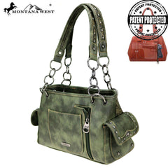 MW606G-8085 Montana West Arrow Collection Concealed Carry Satchel