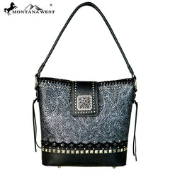 MW610-916 Montana West Embossed Collection Hobo