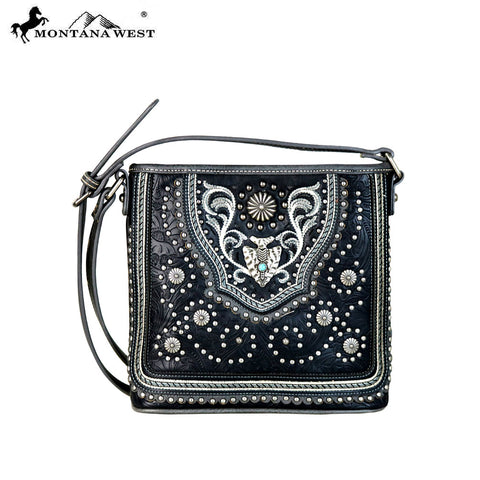 MW629-8360 Montana West Concho Collection Crossbody