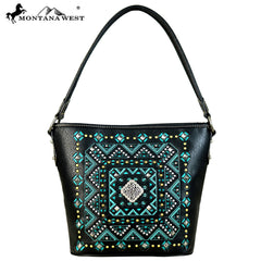 MW642-916 Montana West Concho Collection Hobo