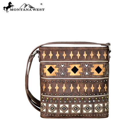 MW645-8360 Montana West Aztec Collection Crossbody