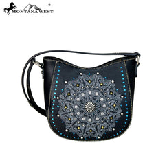 MW646-8360 Montana West Concho Collection Crossbody