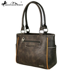 MW654-8248 Montana West Concho Collection Tote