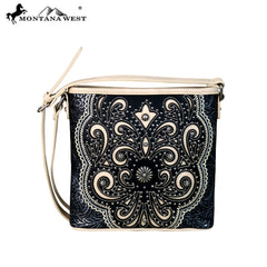 MW654-8360 Montana West Concho Collection Crossbody