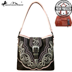 MW657G-918 Montana West Buckle Collection Concealed Handgun Hobo