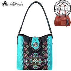 Montana West Aztec Collection Hobo