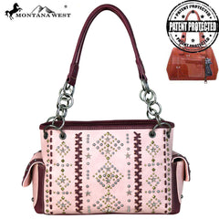 Montana West Aztec Collection Satchel