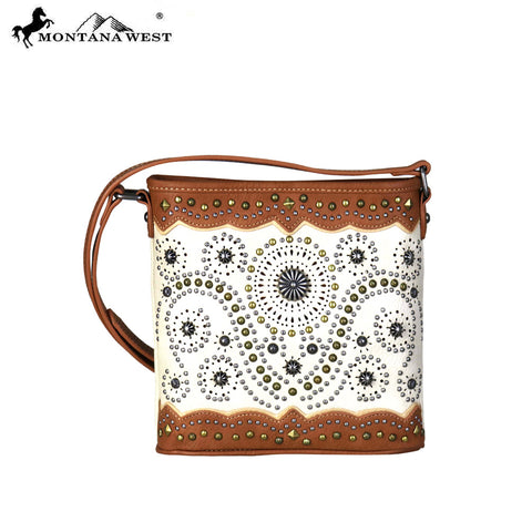 MW678-8360 Montana West Concho Collection Crossbody