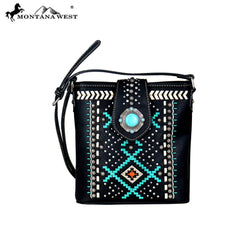 MW690-8360 Montana West Aztec Collection Crossbody