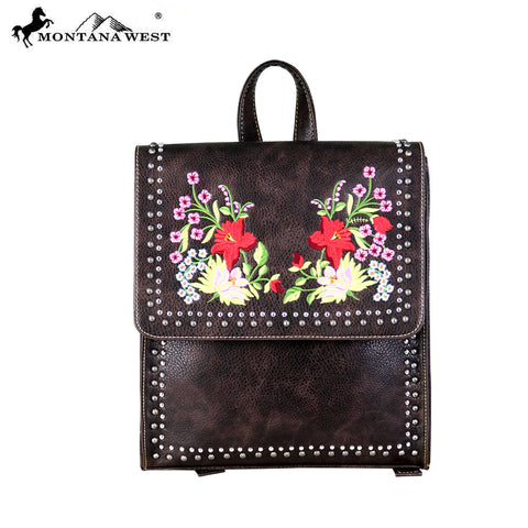 MW697-9111 Montana West Embroidered Collection Backpack