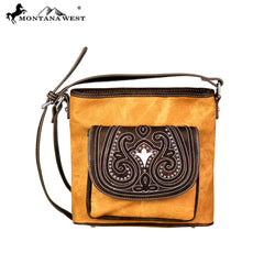 MW701-8360 Montana West Embroidered Collection Crossbody Bag