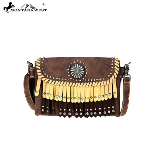 MW708-810 Montana West Concho Collection Crossbody /Waist Fanny Pack