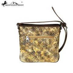 MW726-8360 Montana West Embroidered Collection Crossbody