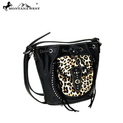 MW727-8360 Montana West Safari Collection Drawstring Crossbody