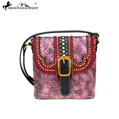 MW728-8360 Montana West Buckle Collection Crossbody