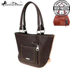 MW729G-8317 Montana West Safari Collection Concealed Carry Tote