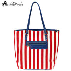 MW730-8485 Montana West American Pride Collection Tote