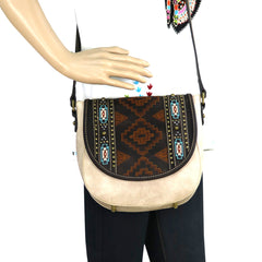 MW744-8360 Montana West Aztec Collection Crossbody