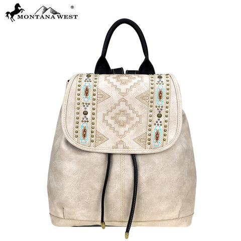 MW744-9110 Montana West Aztec Collection Backpack