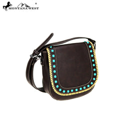 MW746-8360 Montana West Western Collection Saddle Bag