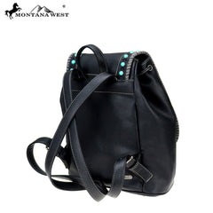 MW746-9110 Montana West Western Collection Backpack