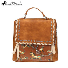 MW756-9110 Montana West Horse Collection Backpack