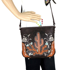 MW757-8360 Montana West Embroidered Collection Crossbody Bag