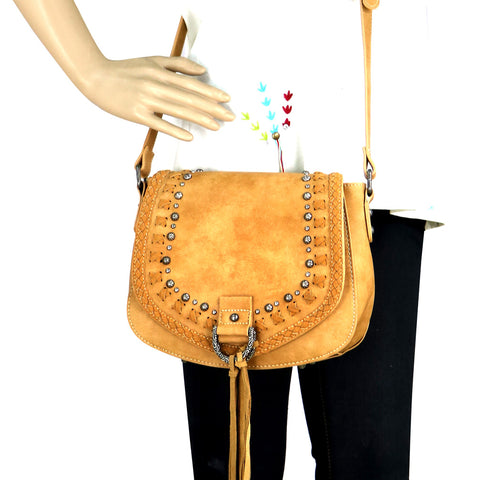 MW764-8287 Montana West Western Collection Saddle Bag