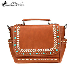 MW765-8262 Montana West Western Collection Satchel/Crossbody