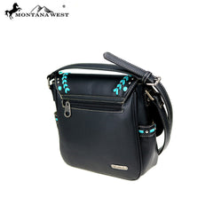 MW765-8360 Montana West Western Collection Saddle Bag